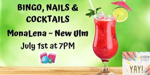Bingo, Nails & Cocktails ~ MonaLena, New Ulm