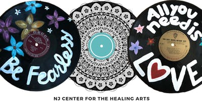 Vinyl Record Mandala Workshop