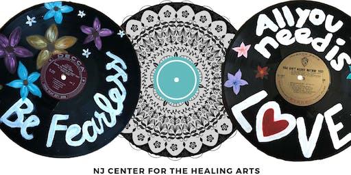 Vinyl Record Mandala Workshop