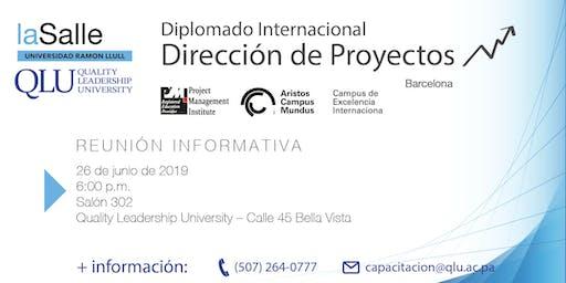 Sesión Informativa: Diplomado Internacional de Dirección de Proyectos, laSalle 2019