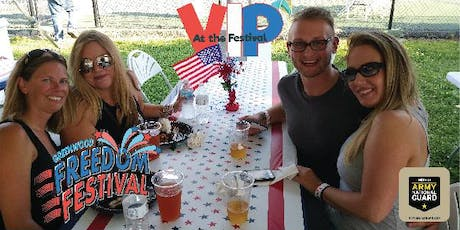 2019 VIP @ Freedom Festival ~ A catered space with an elevated view! tickets