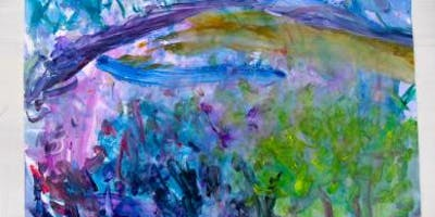 """Celia Forestal Smith \""""Strengthen Your Art\"""" - Abstract Intuitive Painting"""