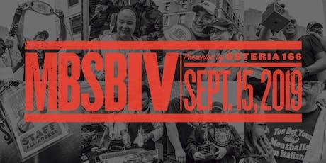 Meatball Street Brawl IV tickets