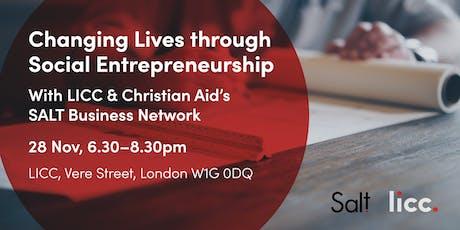 Changing Lives through Social Entrepreneurship tickets