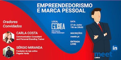 MeetIN Lisboa: Empreendedorismo e Marca Pessoal