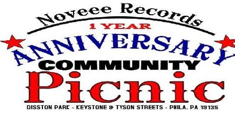 Noveee Records 1 Year Anniversary Community BBQ & PICNIC tickets