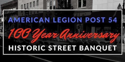 Historic Street Banquet