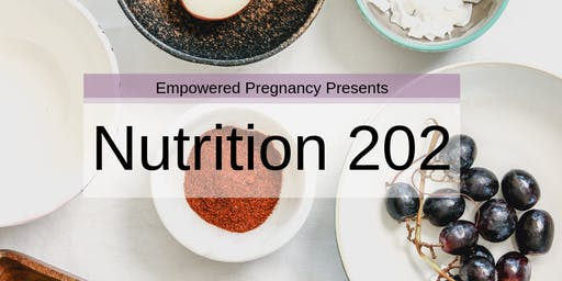 Nutrition 202