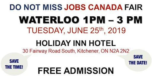 Waterloo Job Fair - June 25th, 2019