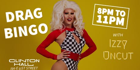 Drag Bingo with Izzy Uncut tickets