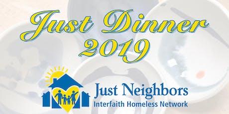 Just Dinner 2019 tickets
