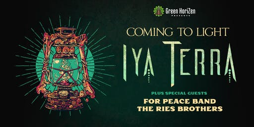 IYA TERRA W/ THE RIES BROTHERS & FOR PEACE BAND - STUART