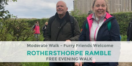 ROTHERSTHORPE RAMBLE | 5 MILES | MODERATE | NORTHANTS tickets
