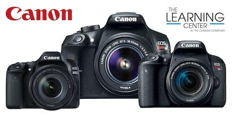Canon DSLR Intermediate - 9/11 and 9/18 tickets