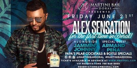 Alex Sensation LIVE alongside Jammin' Johnny & Armand Pena tickets