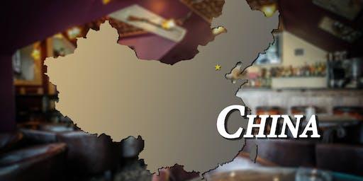 China Themed Dinner, Around the World Dinner Series