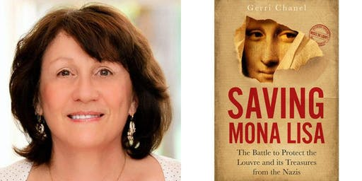 "Meet Gerri Chanel discussing ""Saving Mona Lisa"" at Books & Books!"