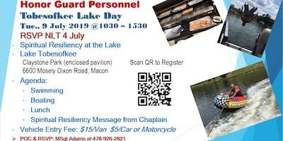 Honor Guard Lake Day