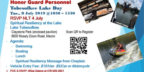 Honor Guard Lake Day tickets