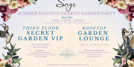 Summer Solstice Garden Party