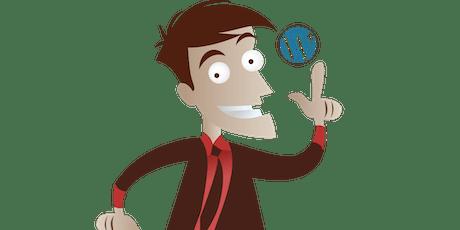 """Présentation de la formation """"Créer son site web avec  Wordpress """"  billets"""