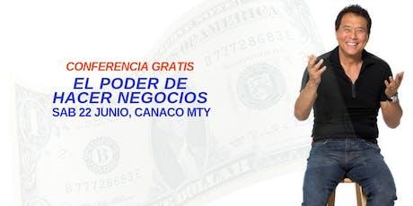EL PODER DE HACER NEGOCIOS entradas