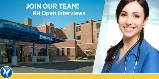 Dukes Memorial Hospital Open Interviews for RNs!
