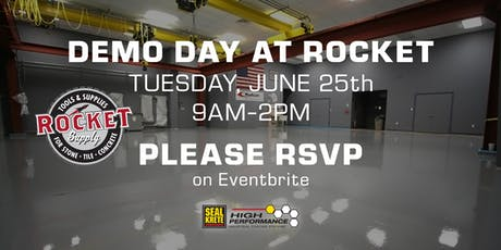 Demo Day at Rocket Supply 6/25 tickets