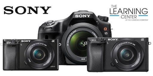 Sony DSLR Intermediate 8/28 & 9/4
