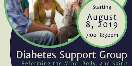 Diabetes Support Group- Reforming the Mind, Body and Spirit tickets