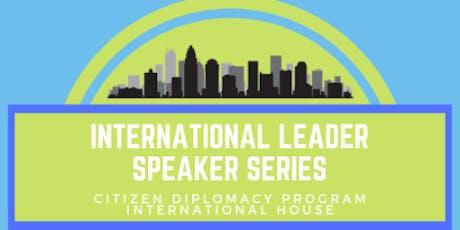 International Speaker Series-Global Leadership in Corporate Social Responsibility tickets