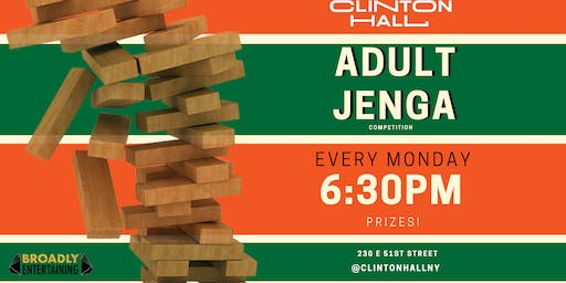 Giant Jenga Competition