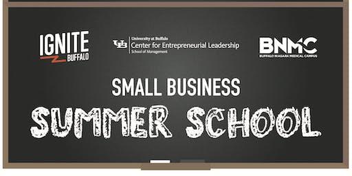 Small Business Summer School: Developing an Execution Plan