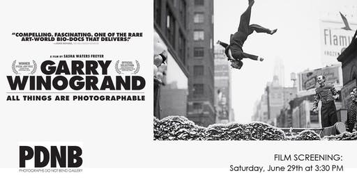 Film Screening: Garry Winogrand: All Things Are Photographable