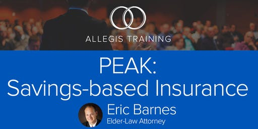 PEAK: Savings-based Insurance