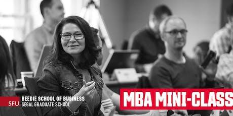 MBA  Mini-Class  tickets