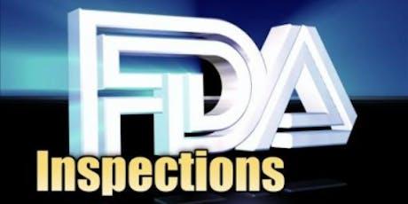 3-Hour Virtual Seminar on FDA Inspection Readiness – Be Ready! tickets
