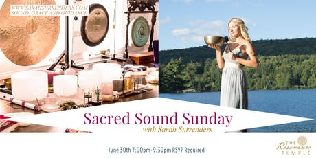 Sacred Sound Sunday billets