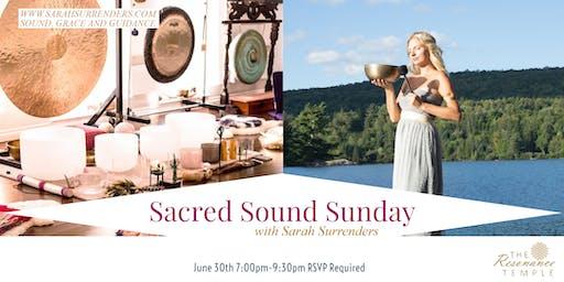 Sacred Sound Sunday