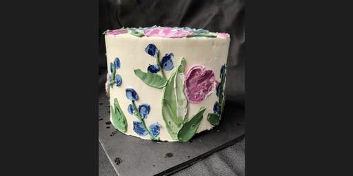 Paint Your Cake & Eat It Too!