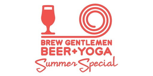 Beer + Yoga: 90 Minute Summer Special