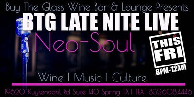 Neo Soul Live Music   NW Houston