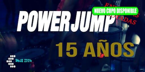 Power Jump 15 Años