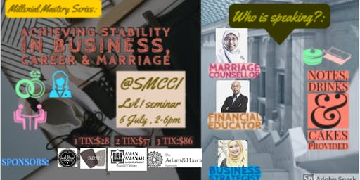 Achieving Success & Stability through Business, Career  & Marriage.