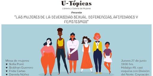 """Mesa de diálogo: """"Las mujeres de la diversidad sexual"""""""