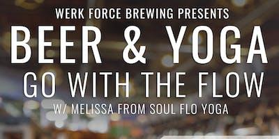 Werk Force Brewing Beer + Yoga 7/13