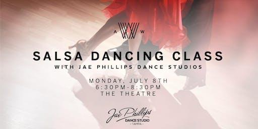 Salsa Dancing Class with Jae Phillips Dance Studio