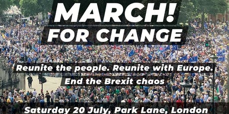 Cheltenham and Tewkesbury for Europe - March for Change tickets