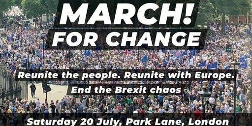 Cheltenham and Tewkesbury for Europe - March for Change