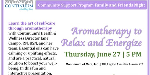 Aromatherapy to Relax and Energize